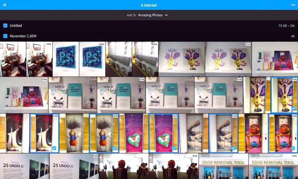 Adobe Lightroom Image Capture API