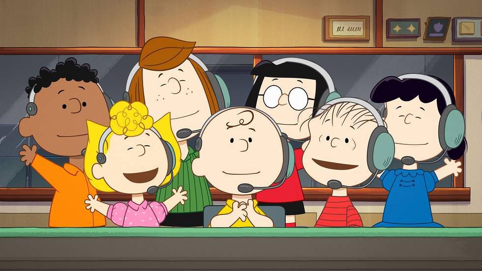 Snoopy in Space Peanuts Gang