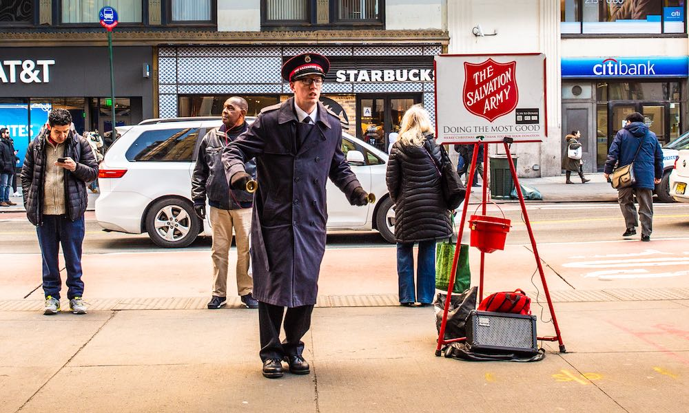 Salvation Army Apple Pay
