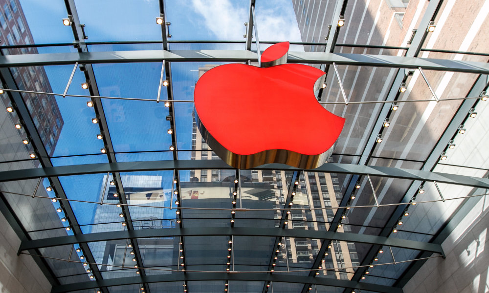 Apple Store Red Logo
