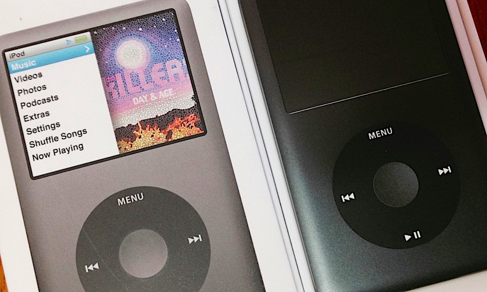 iPod Classic with Click Wheel