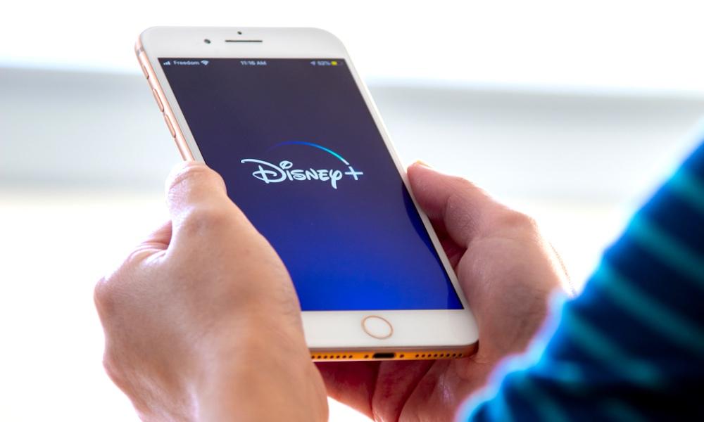 Disney Plus on iPhone