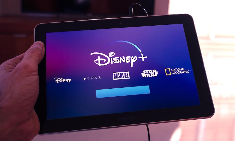 Disney Plus on iPad