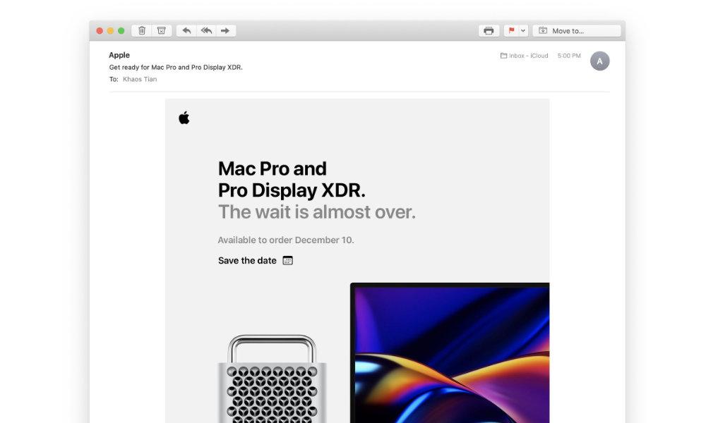 Mac Pro Save the Date