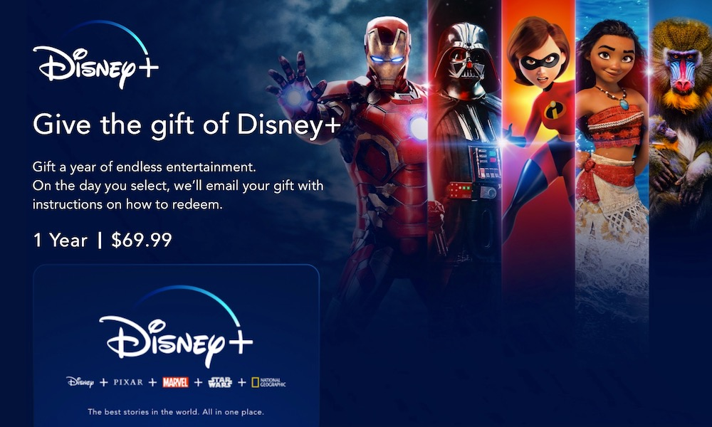 You Can Finally Give Disney+ as a Present (Here's How to Do It)