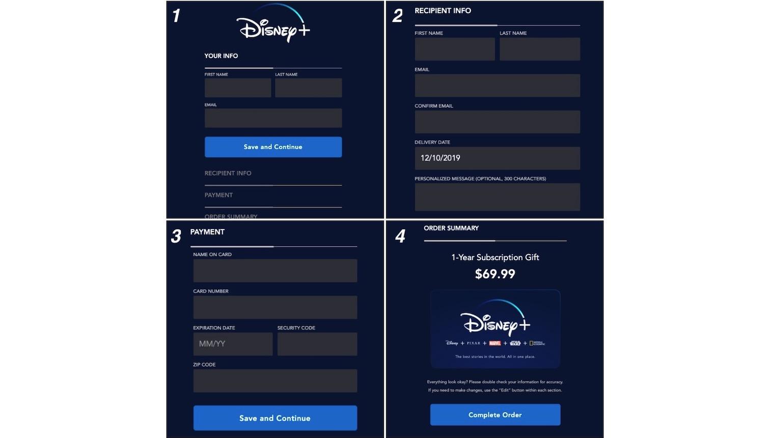 How to Gift Disney Plus1
