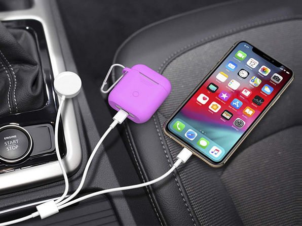 Three in One Lightning and Apple Watch Charging Cable 2