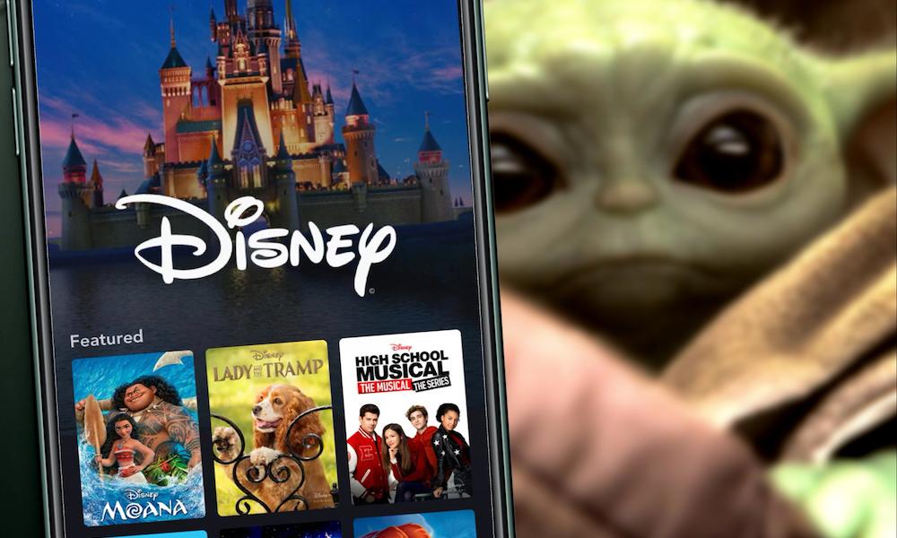 Disney Plus Mandalorian Baby Yoda