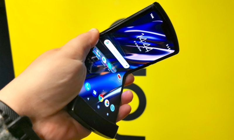Motorola's New, Foldable Razr Is Finally Going up for Preorder