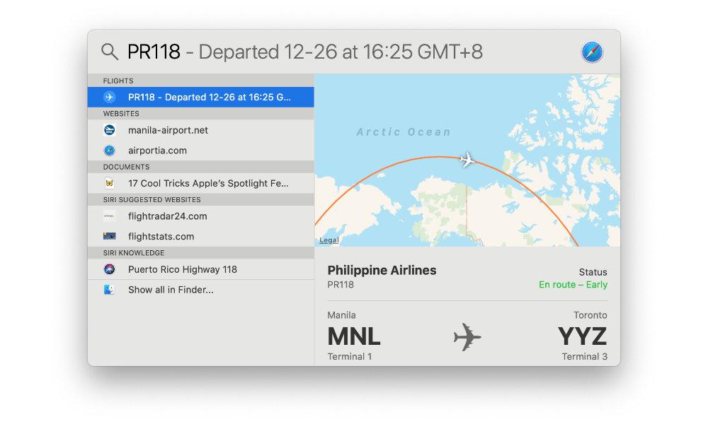 Spotlight — Flight Tracking
