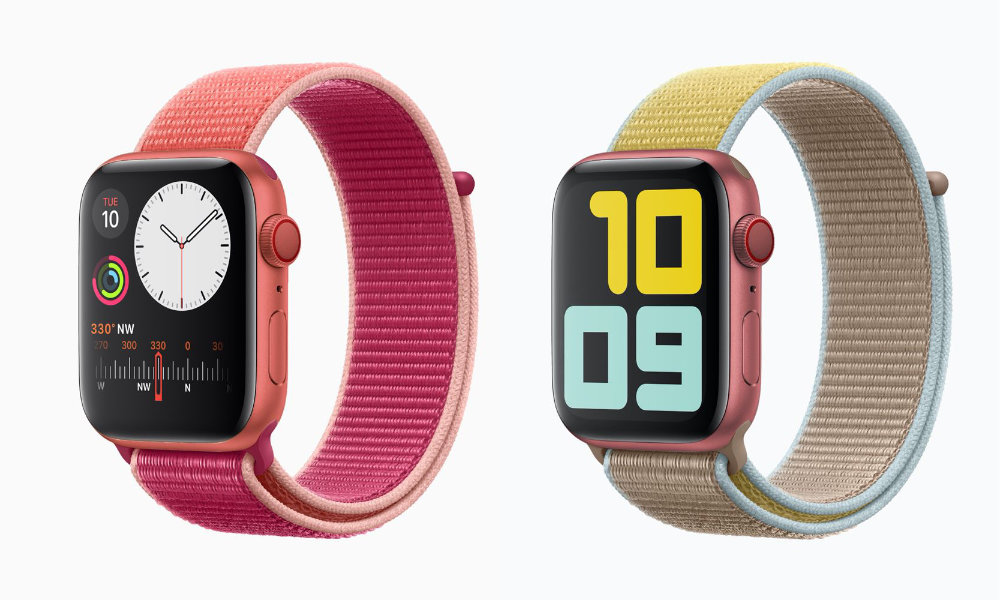 Apple Watch S5 RED