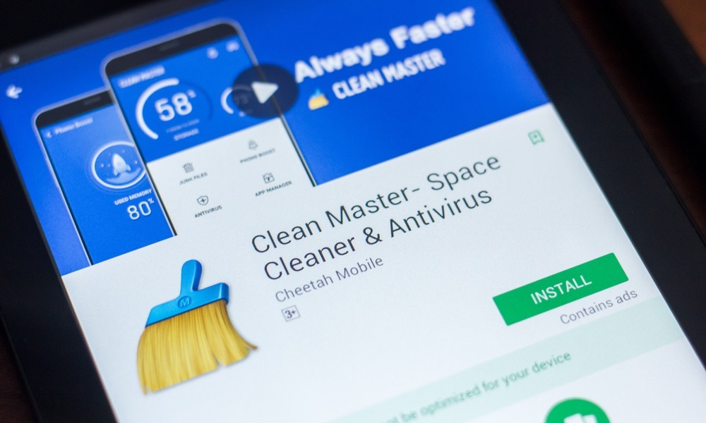 Clean Master Booster App