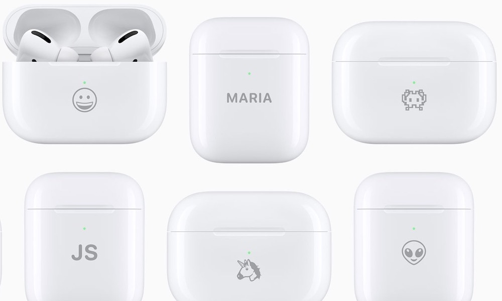 Emoji AirPods Engraving