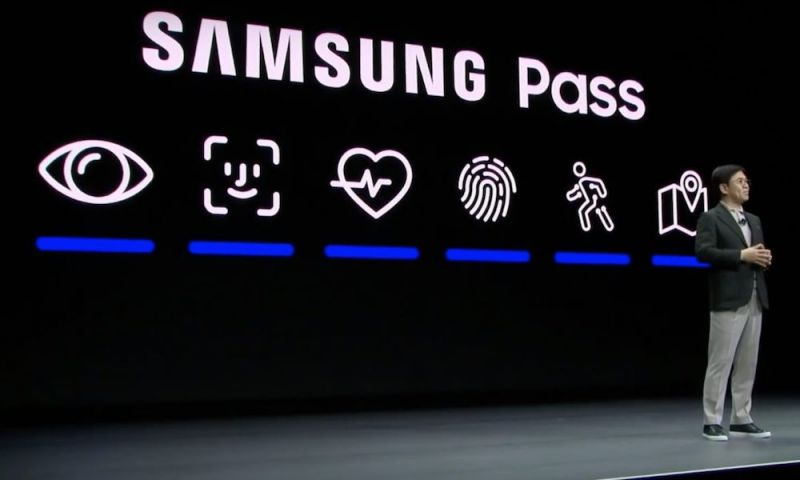 Samsung Literally Stole Apple's Face ID Logo for Its New 'Samsung Pass'