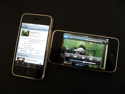 iPhone YouTube app