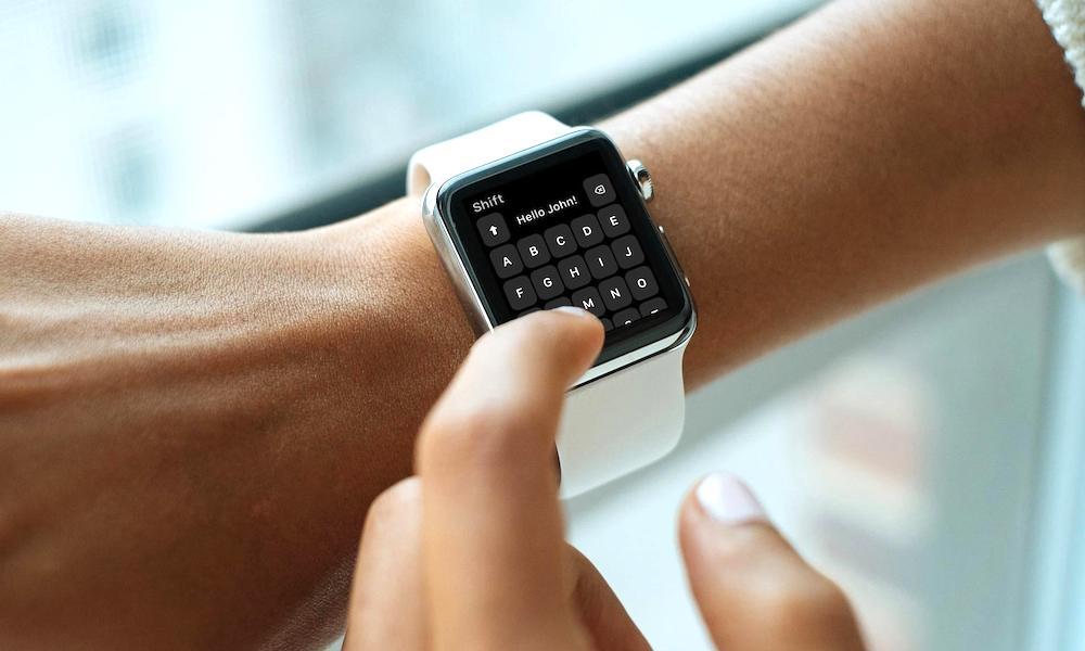 shift keyboard apple watch
