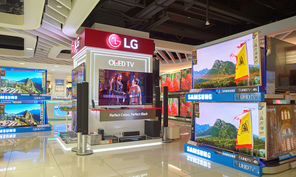 LG Smart TVs and Samsung Smart TVs