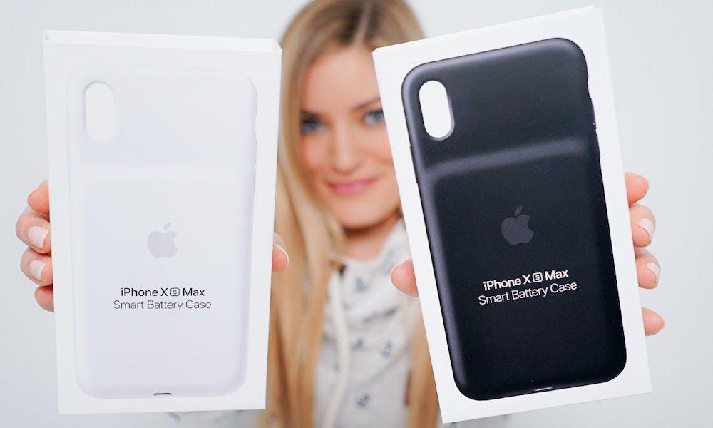 iPhone XS Smart Battery Case via iJustine
