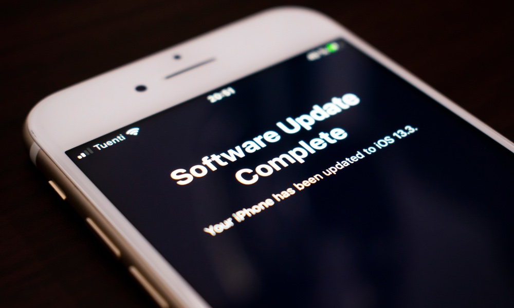 iOS Software Update for iPhone Complete