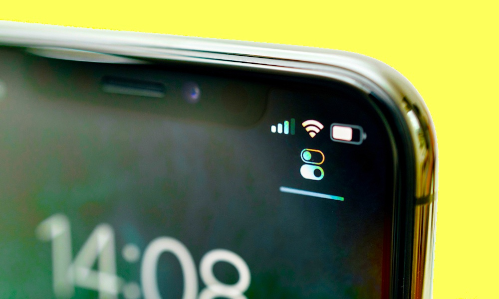 iPhone Cell Service Bars 2