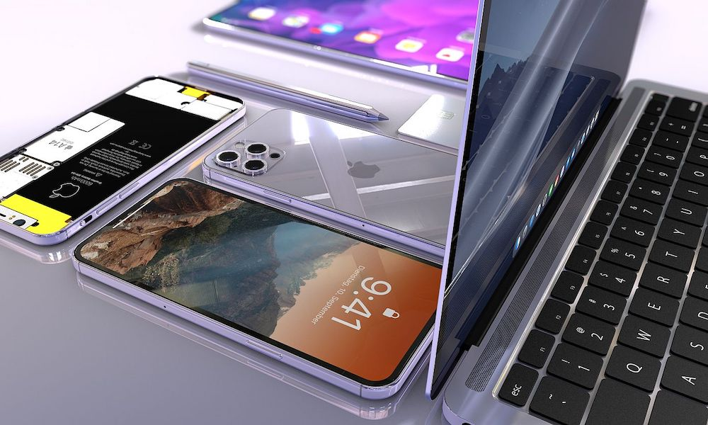 iPhone 12 and MacBook Pro Concept
