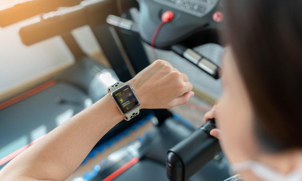 Apple Watch GymKit treadmill