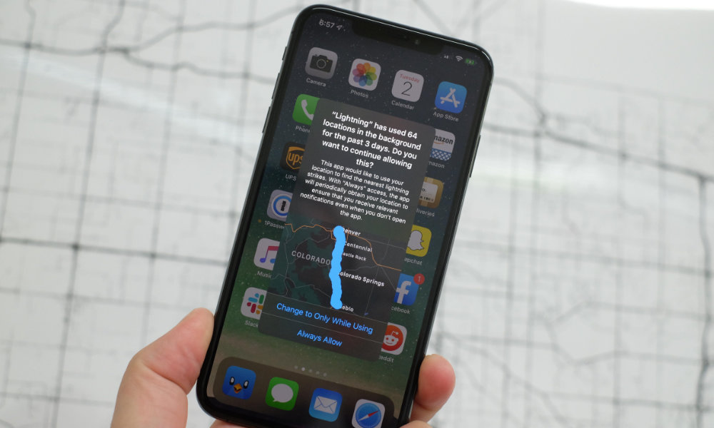 iOS 13 Always Allow Location Warning