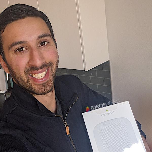Bijan A iDrop News Apple HomePod Giveaway Winner January 2020