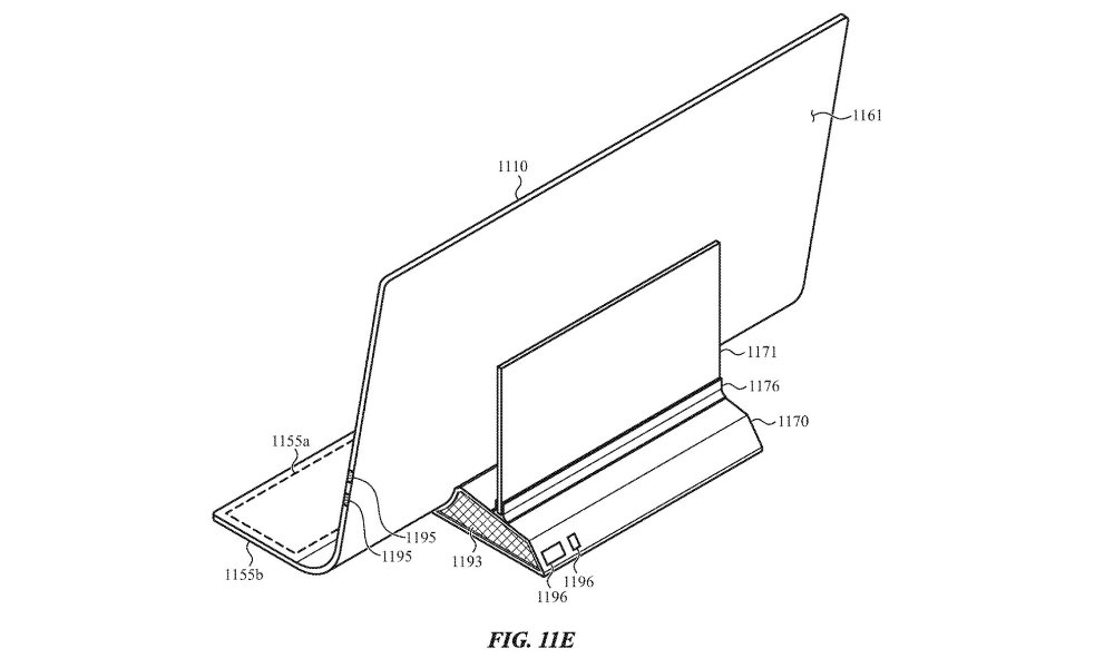 Apple patent all glass iMac back