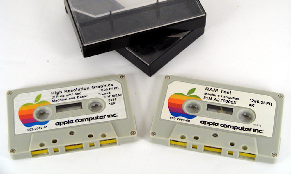 Apple Casette Tapes