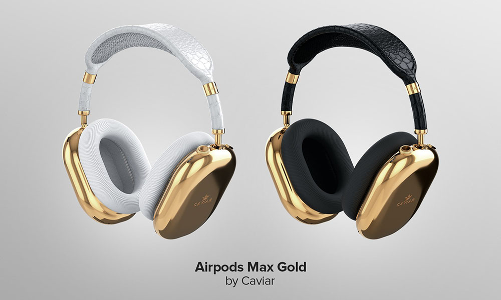 AirPods Pro Max Gold Edition by Caviar