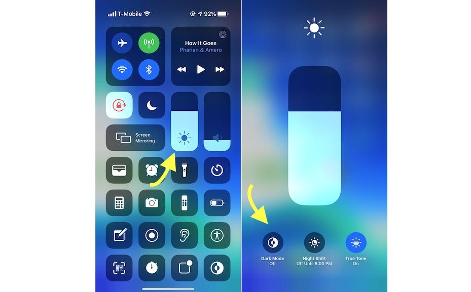 Long Press Brightness Control in iOS 13.png