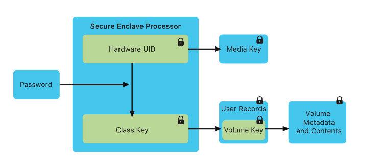 Secure Enclave processor