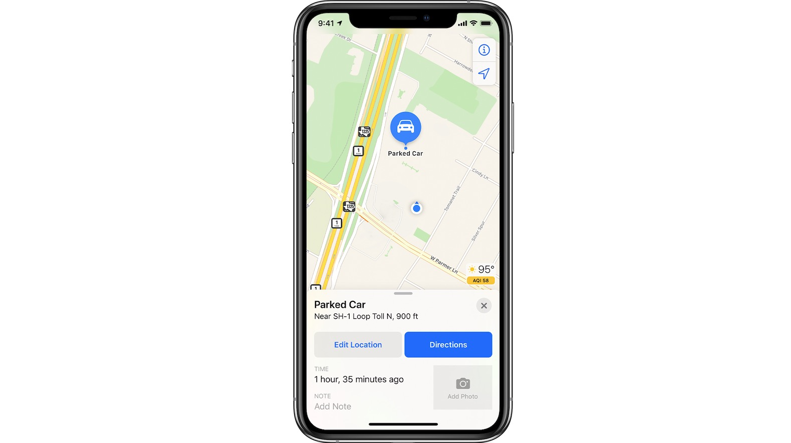 Find Parked Car in iOS 13