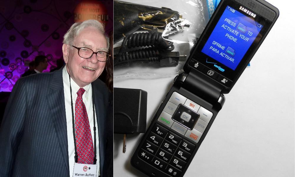 Warren Buffet Samsung SCH U320