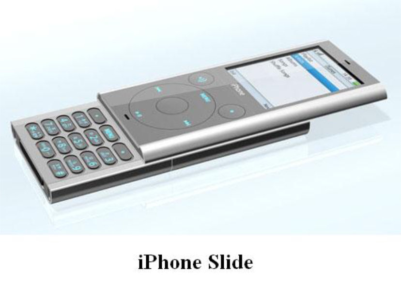 iPhone slide concept