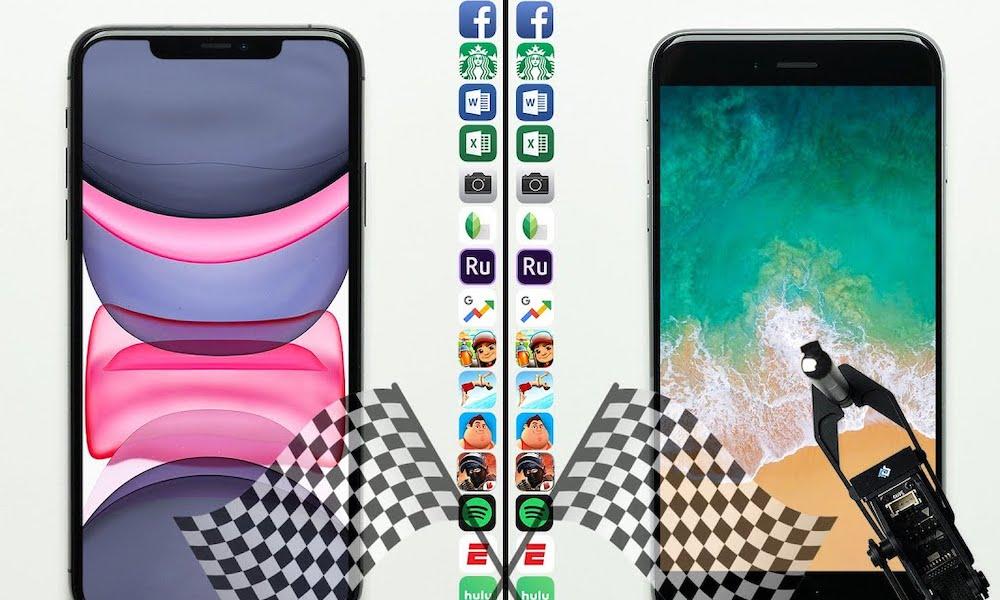 iPhone 11 Pro vs iPhone 6s