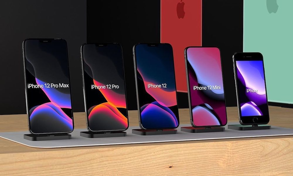 iPhone 12 Lineup Concepts