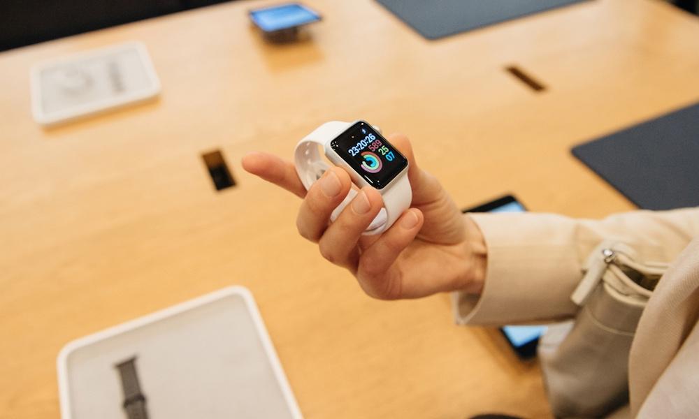 Apple Watch in Apple Store