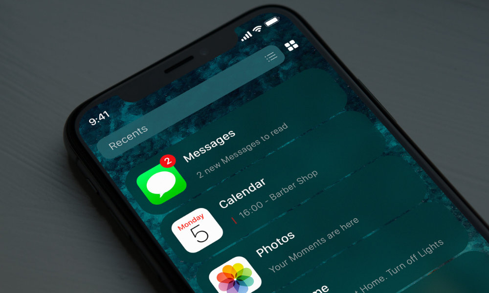 iOS 14 home screen concept iSpazio