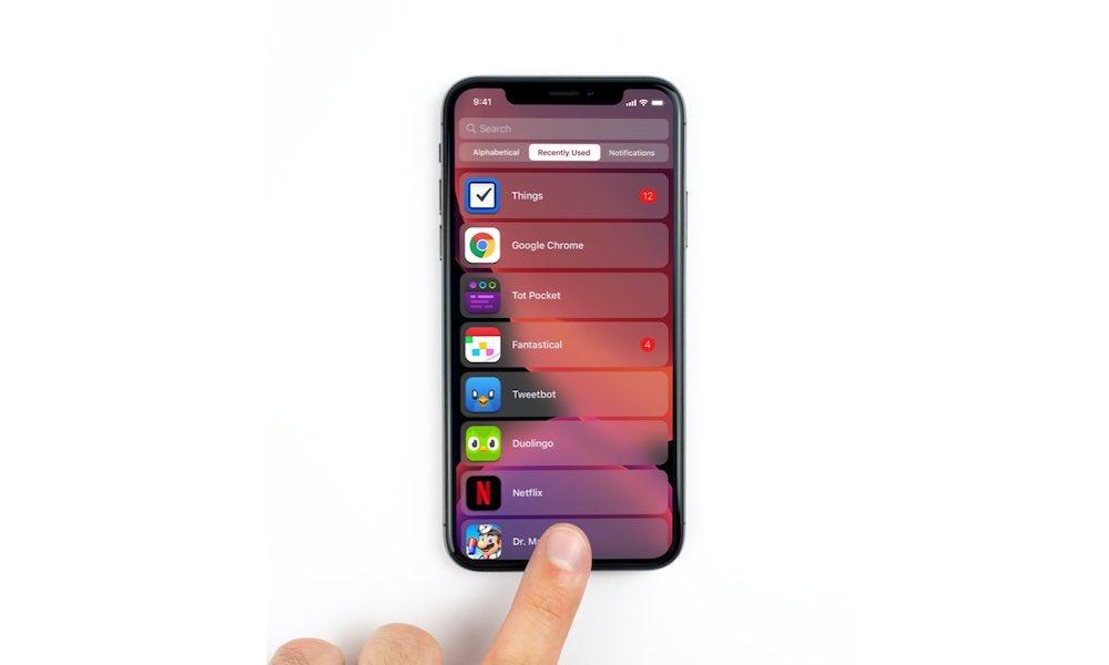 iOS 14 List Concept