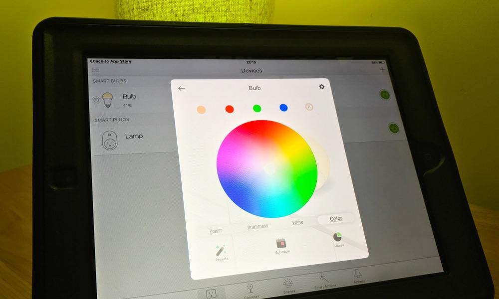 TP Link Kasa App on iPad