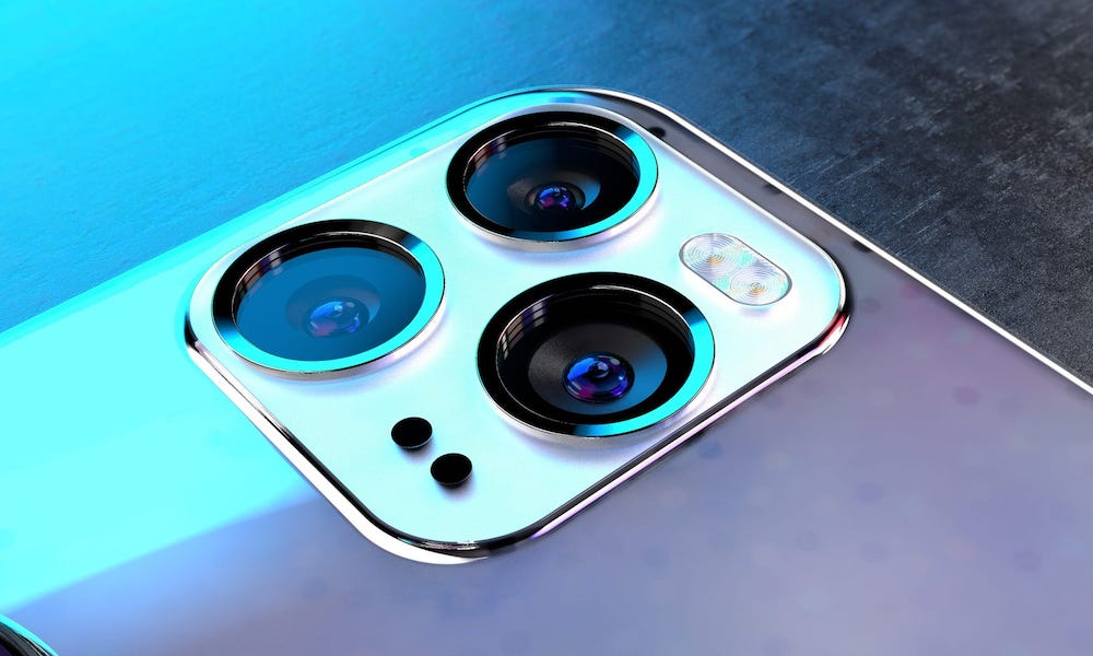 iPhone 12 Concept Image Camera