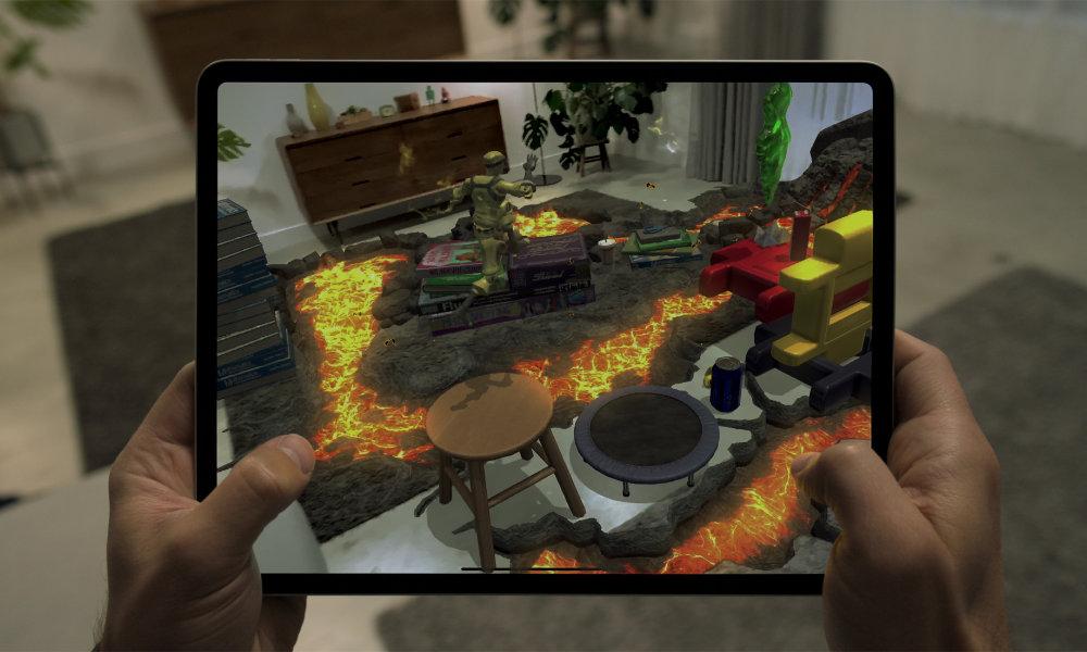 iPad Pro 2020 AR Gaming