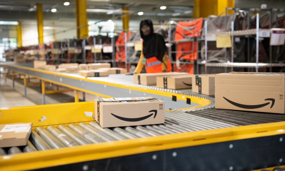 Amazon Warehouse Boxes and Shipment