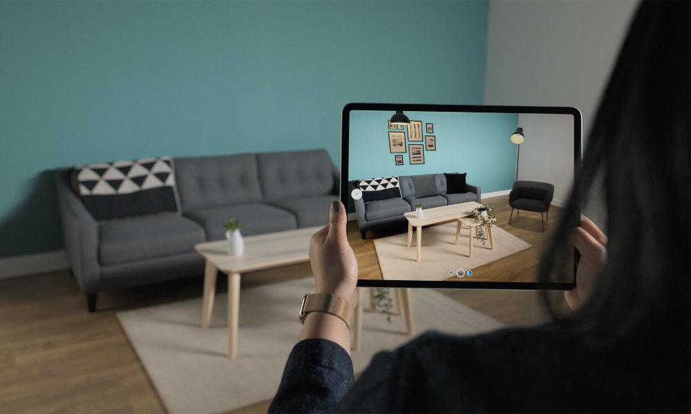 iPad Pro 2020 ARKit IKEA Studio Mode