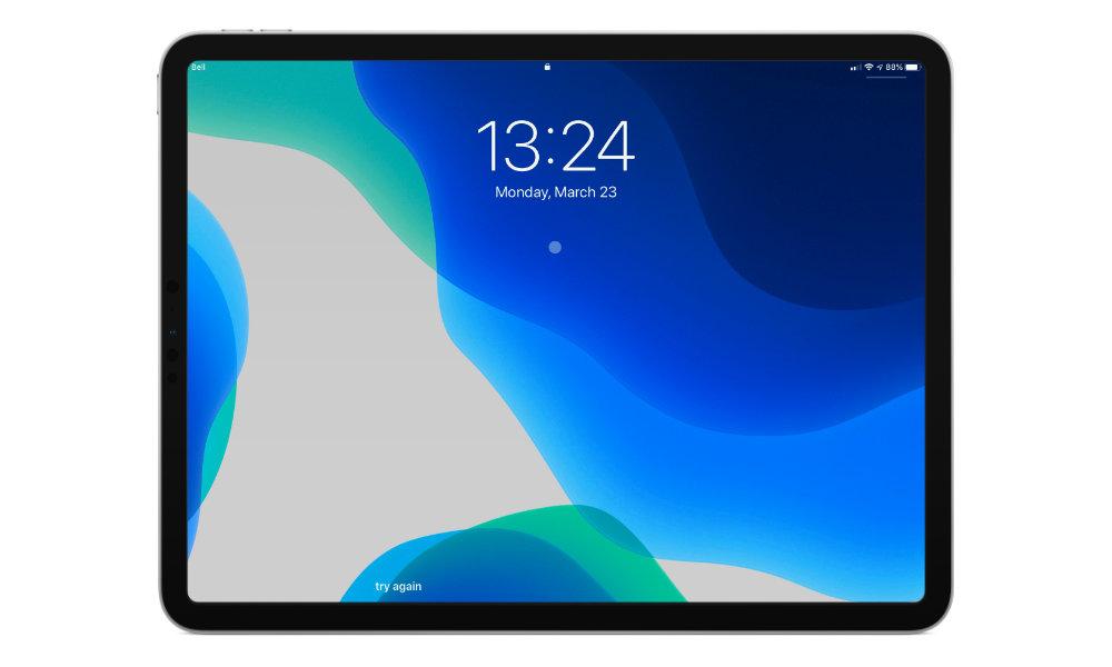 iPadOS 13.4 mouse lock screen