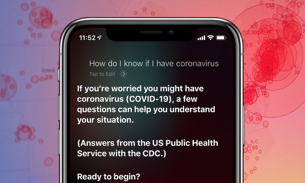 Siri Coronavirus iPhone
