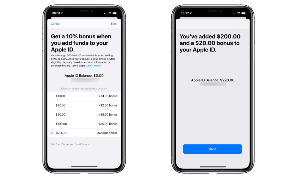 Apple Is Giving Away Free Money When You Add Funds To Your Apple Id