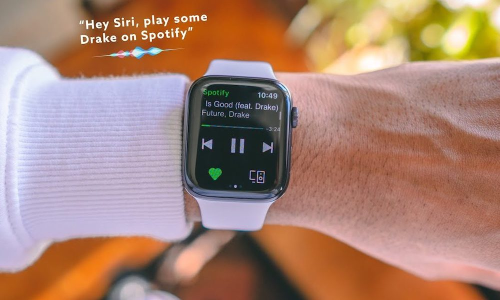 Apple Watch Spotify Siri Support